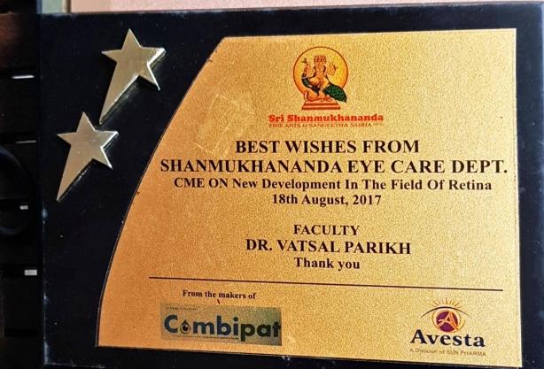 CME 2017 in Shanmukhananda Eye Care Dept