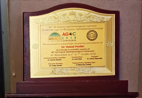 46th All Gurat Opthlmological Conference  2018