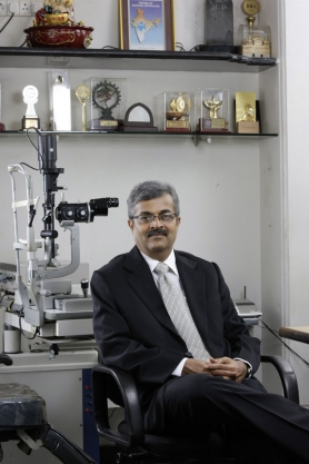 Dr. Vatsal Parikh in his chamber