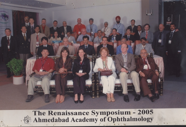 Dr. Vatsal as faculty act  the Renaissance symposium-2005. Ahmedabad Academy Of Opthalmology