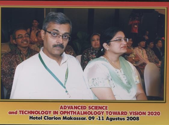 Dr. Vatsal Parikh in inaugural function at Makassar, Indonesia