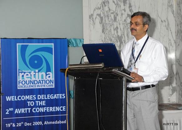 Video Presentation at Ahmedabad Retina Conference19- 20Dec2009