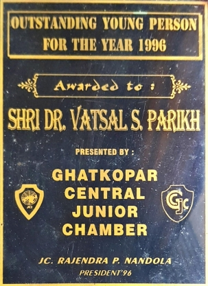 Outstanding Young Person Of The Year 1996