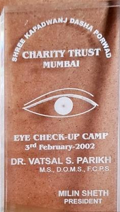 Eye check-up camp