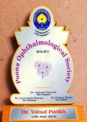 Poona Opthalmological Society 2010