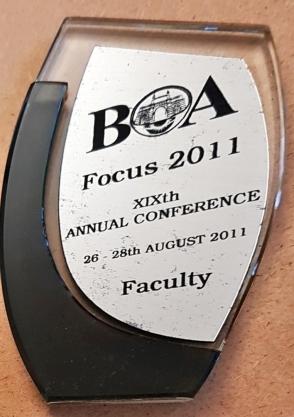 BOA Focus 2011