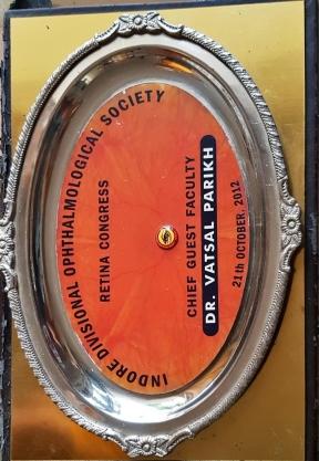 Indore Divisional Opthalmological Socity (Retina Congress) 2012