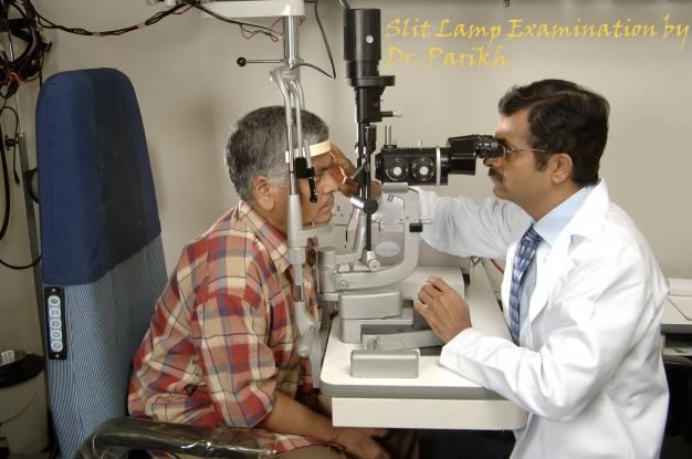 Slit Lamp Examination by Dr. Parikh