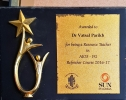 Awarded for being a Resource Teacher in AIOS-PG Refresher Course 2016