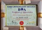 BOA Certificate of Appreciation 2006
